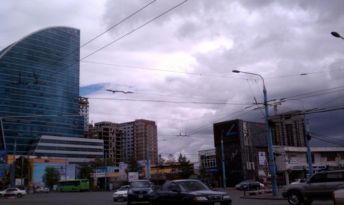 Downtown Ulaanbaatar, Mongolia