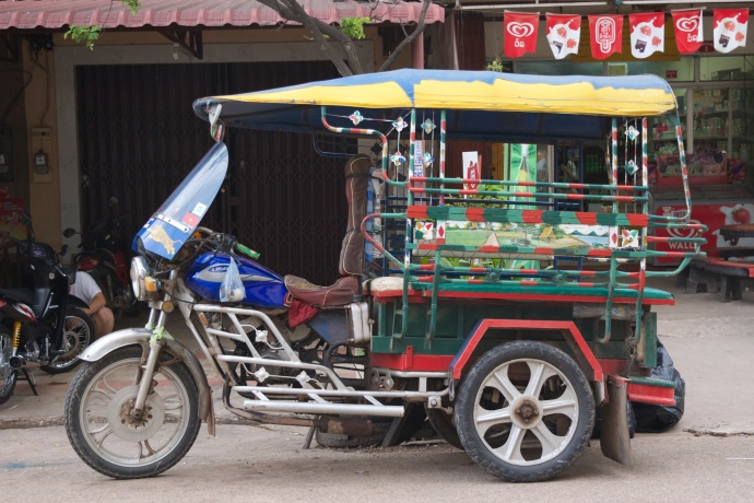 The humble tuk tuk