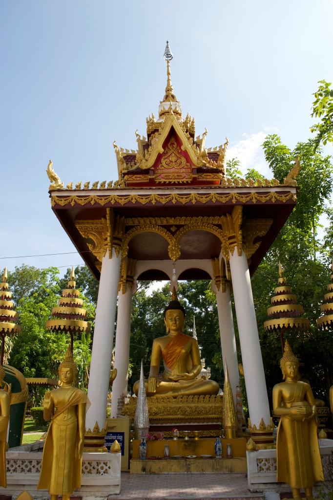 Buddha garden at Wat Sisaket.